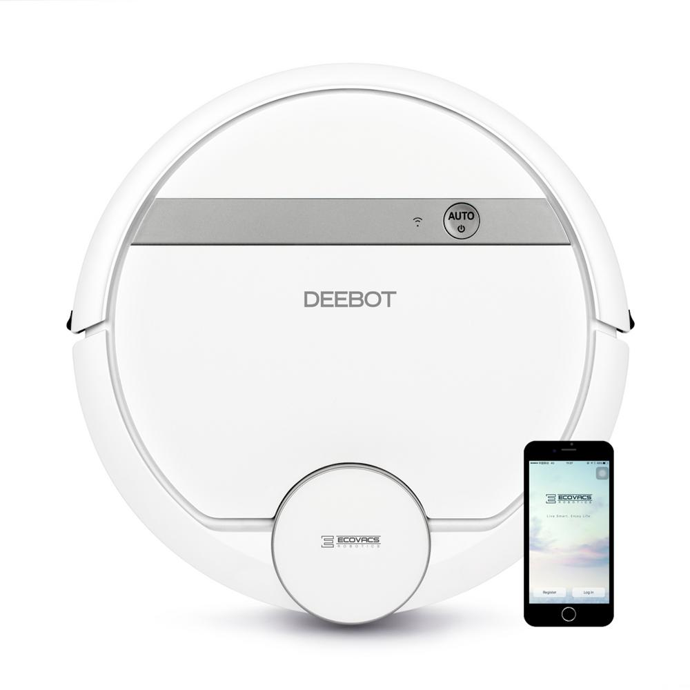 Ecovacs Deebot 900 Robotic Vacuum Cleaner 900 The Home Depot