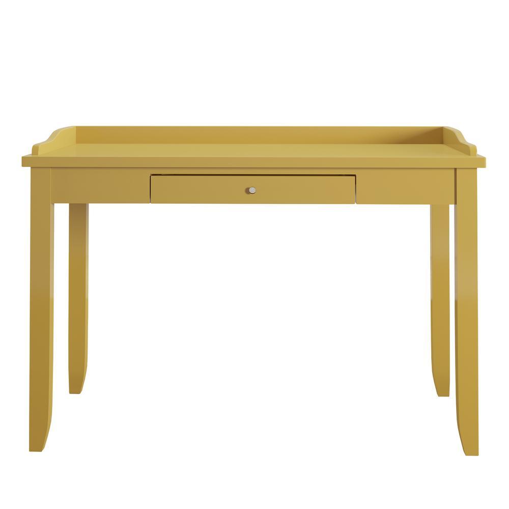Ingrid Yellow Writing Desk