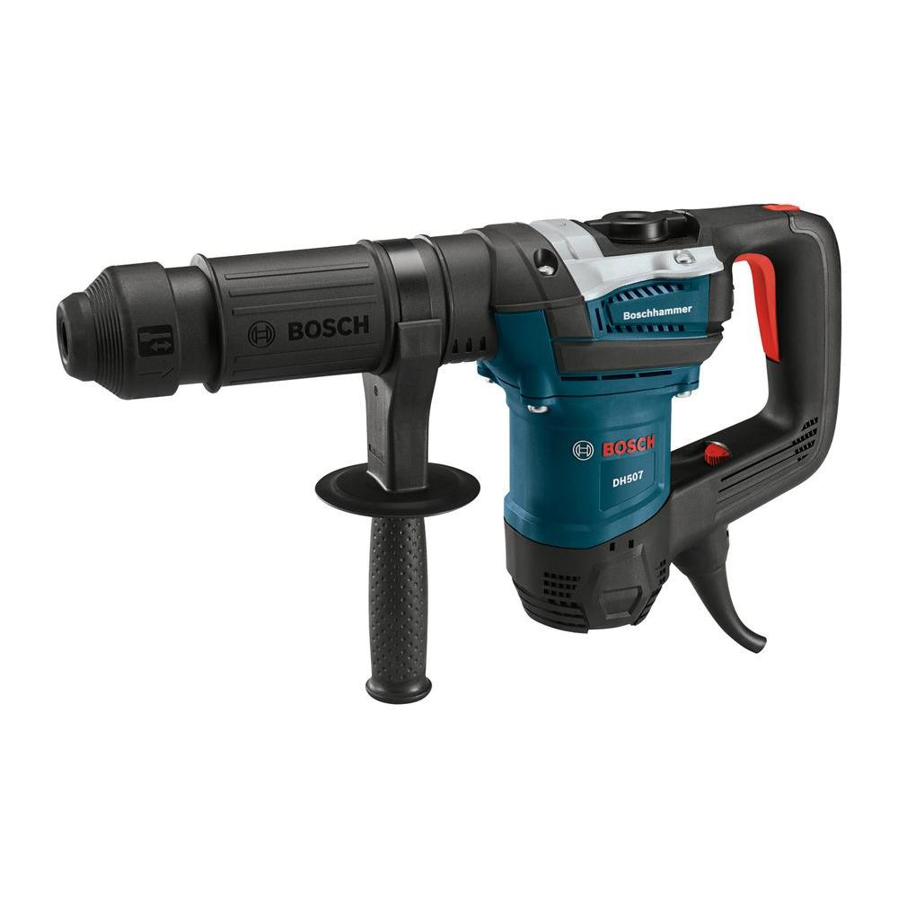 Bosch Amp Corded SDSmax Demolition Hammer With Auxiliary Handle - Demolition hammer rental home depot