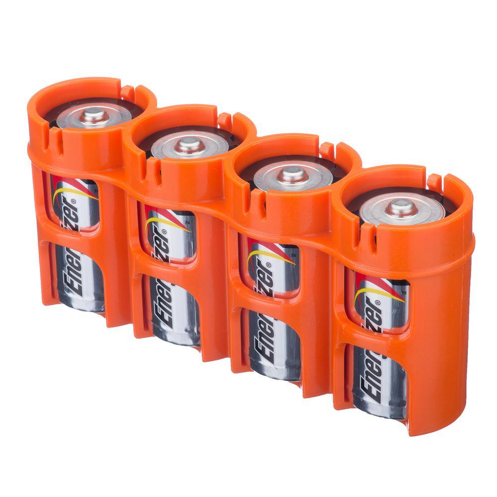 Slim Line C Battery Organizer and Dispenser