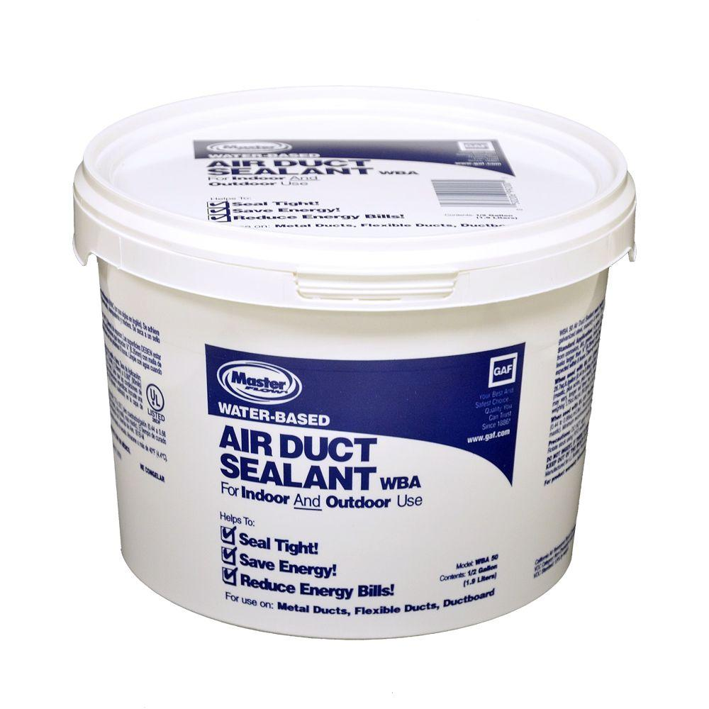 null Water Based Mastic Half Gallon Tub