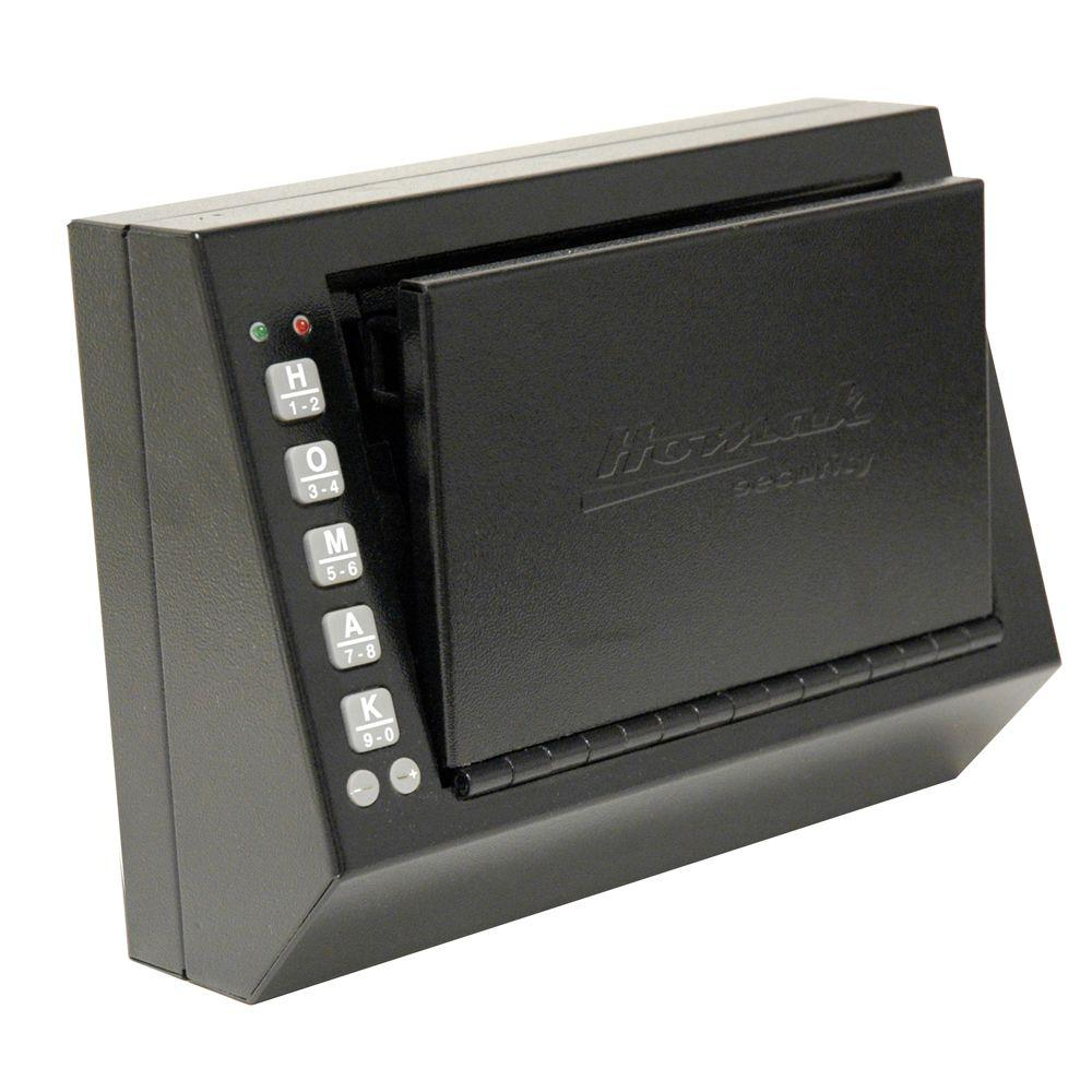 Homak Security 0.12 cu. ft. Electronic Small Handgun Box