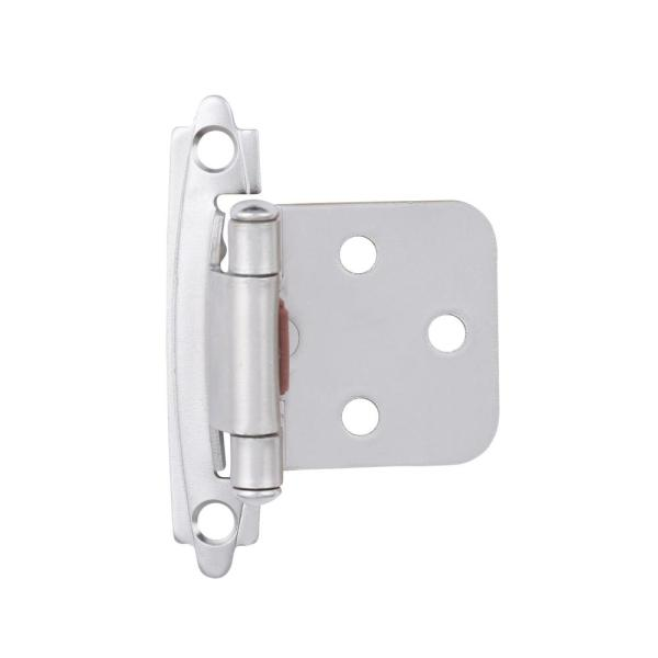 VXB Brand 1 3//8 Inch Stainless Steel Full Overlay Smooth Hydraulic Hinge