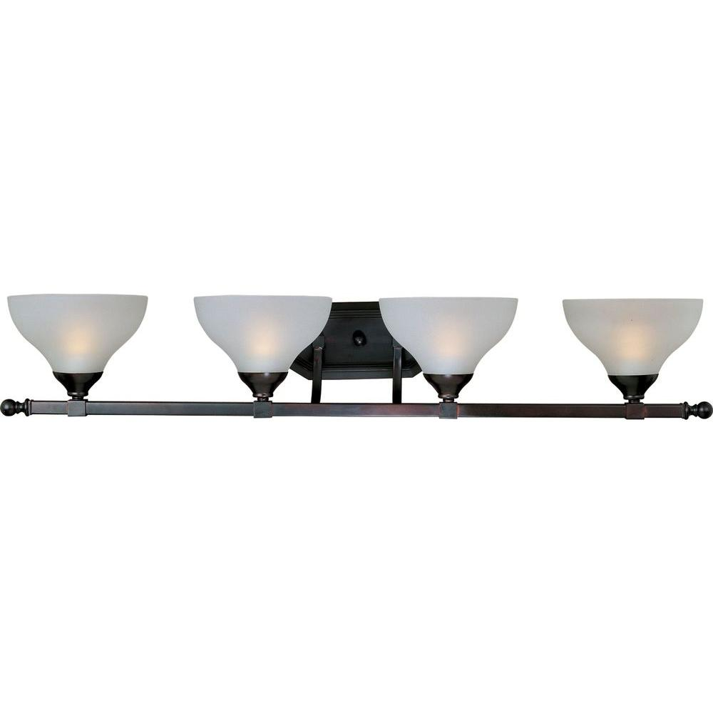 Contour 4-Light Oil-Rubbed Bronze Bath Vanity Light
