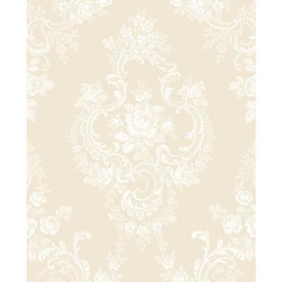 Gold Document Cameo Wallpaper