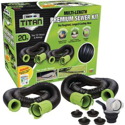 Titan 20 ft. Premium RV Sewer Kit System