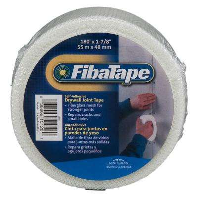 FibaTape 1-7/8 in. x 180 ft. White Self-Adhesive Mesh Drywall Joint Tape
