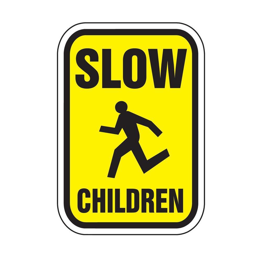 Lynch Sign Regulatory Signs - Slow Children Reflectorized