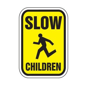 Lynch Sign Regulatory Signs - Slow Children Reflectorized by Lynch Sign