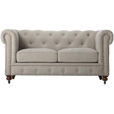 Gordon Natural Linen Loveseat