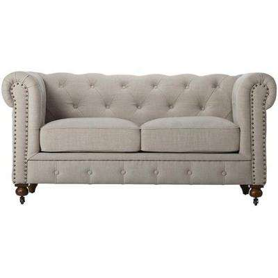 Fabric Loveseat Sofas Loveseats Living Room Furniture The