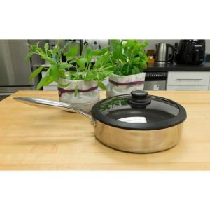 Stainless Steel Saute Pan with Lid