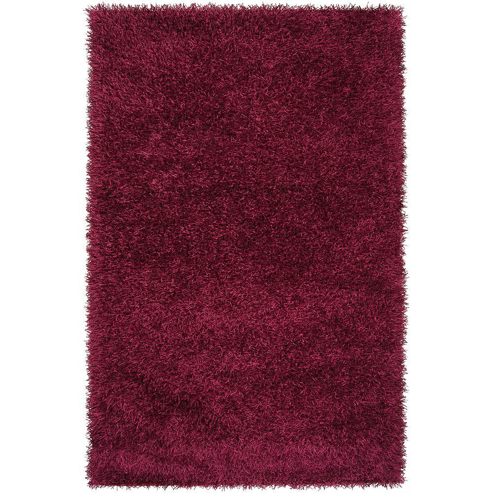 Artistic Weavers Lindon Raspberry 2 ft. 6 in. x 4 ft. 2 in. Area Rug