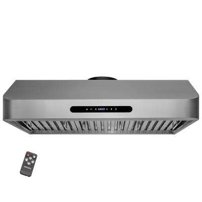 30 in. 400 CFM Ducted Under Cabinet Range Hood in Stainless Steel with LED Lighting