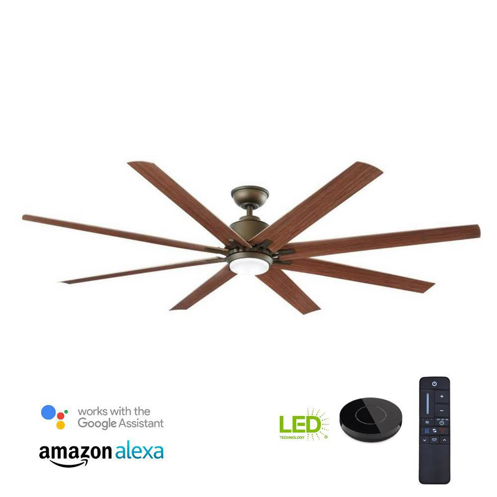 Bond Smart Wifi Ceiling Fan Remote Hub Bd 1000 The Home Depot Hunter Light Kit Wiring Diagram In Addition Power Factor Led Indoor Outdoor Espresso Bronze Works With Google Assistant And Alexa
