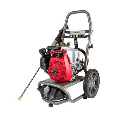 G3100XH 3100 PSI 2.4 GPM Gas Pressure Washer Powered by Honda