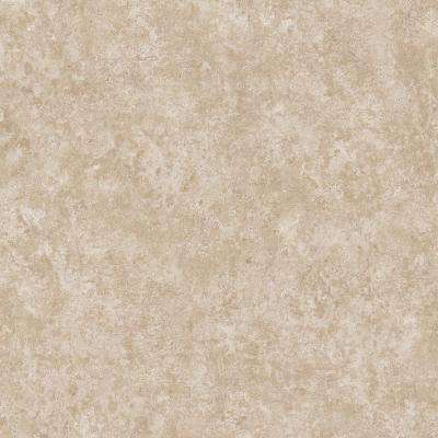 Take Home Sample - Limestone Slab Beige Vinyl Sheet - 6 in. x 9 in.