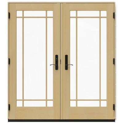 71 x 80 jeld wen double door patio doors exterior doors 7125 in x 795 in w 4500 brilliant white right hand inswing planetlyrics Image collections