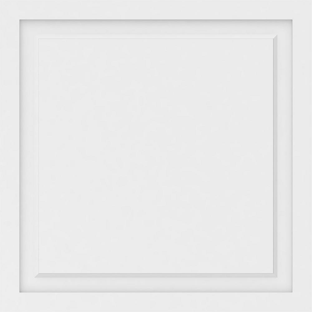 Ekena Millwork 5/8 in. x 2-2/3 ft. x 2-2/3 ft. Harrison