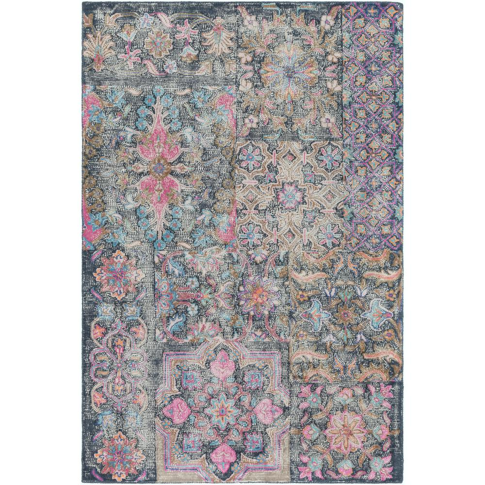 Artistic Weavers Baptista Pink/Navy 8 Ft. X 10 Ft. Area