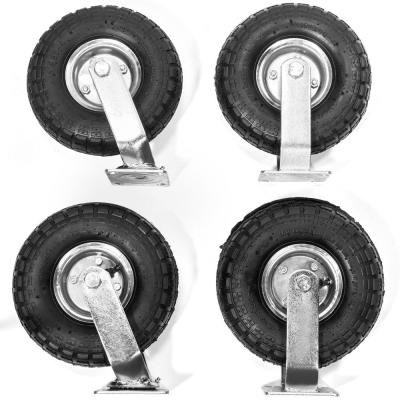 10 in. Industrial Casters (4-Pack)