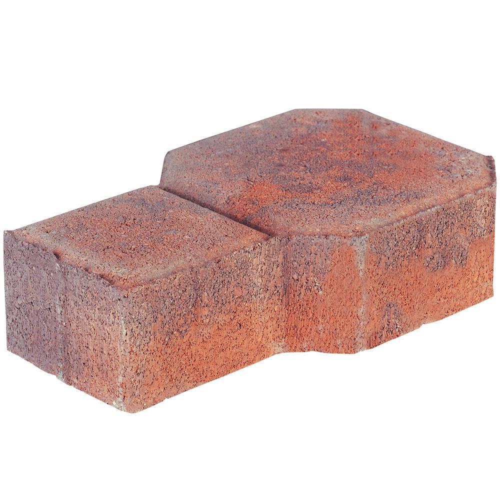 Decorastone 9.06 in. L x 5.51 in. W x 2.36 in. H Antq Terra Cotta Concrete Paver (350 Pieces/100 sq. ft./Pallet)