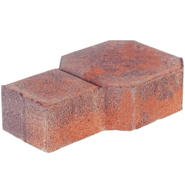 Decorastone 9.06 in. L x 5.51 in. W x 2.36 in. H Antq Terra Cotta Concrete Paver (350 Pieces/100 sq. ft./Pallet)
