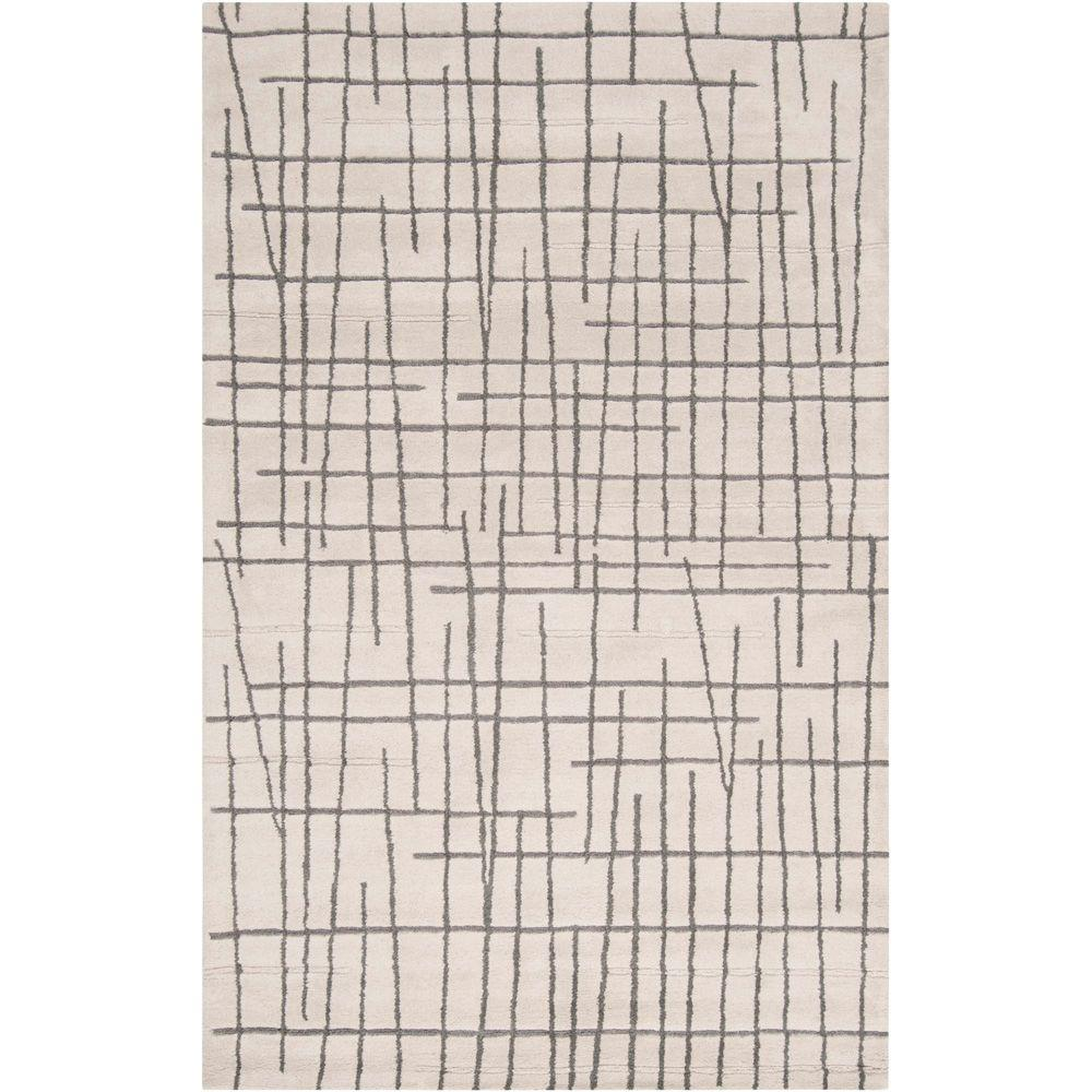 Artistic Weavers Enigma Charcoal Gray 8 ft. x 11 ft. Area Rug