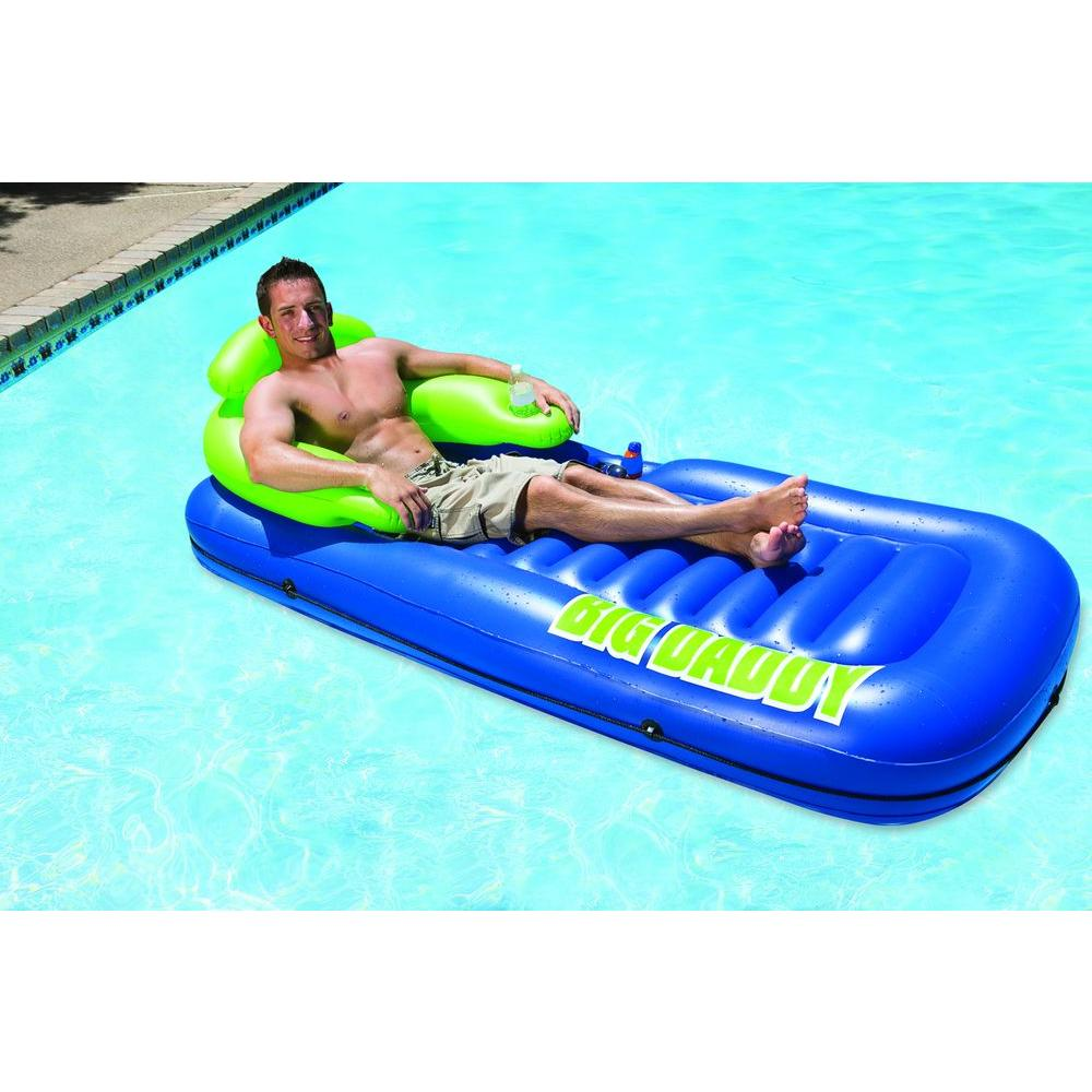 Phenomenal Poolmaster Big Daddy Swimming Pool Float Lounge Ocoug Best Dining Table And Chair Ideas Images Ocougorg