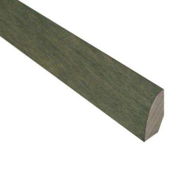 Slate 3/4 in. Thick x 3/4 in. Wide x 78 in. Length Hardwood Quarter Round Molding