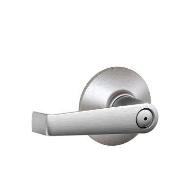 Elan Satin Chrome Light Commercial Privacy Bed/Bath Door Lever