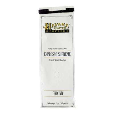 12 oz. Espresso Supreme Coffee Ground (12-Bags)