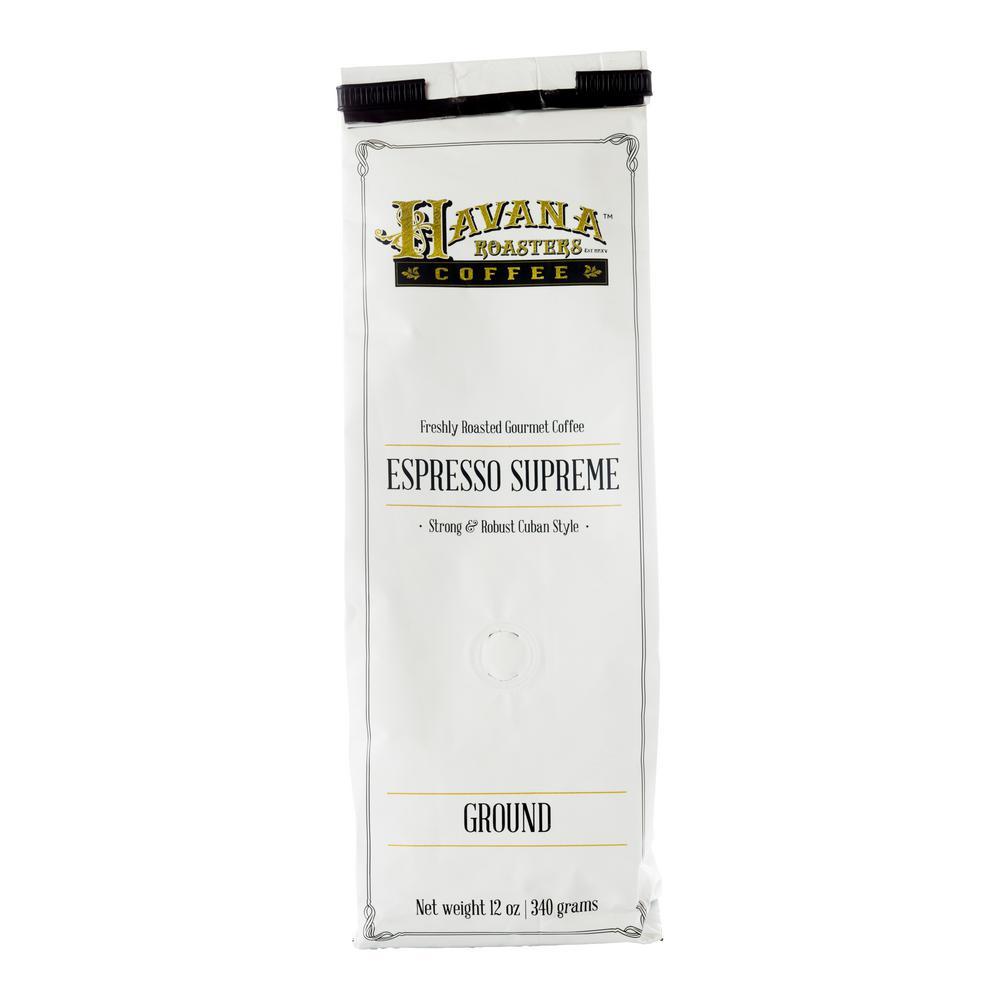12 oz. Espresso Supreme Coffee Ground (12-Bags)