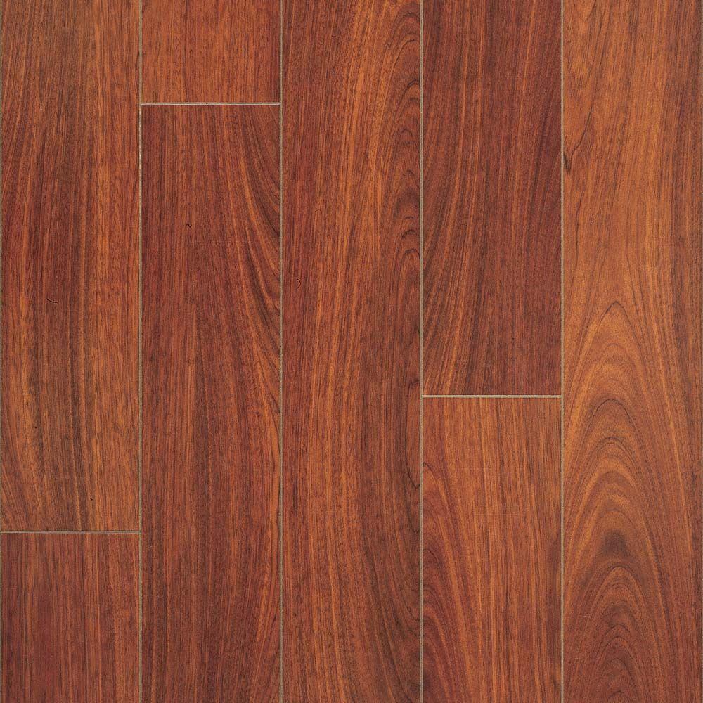 Pergo Presto Brazilian Jatoba 8 mm Thick x 5-3/8 in. Wide x 47-5/8 in. Length Laminate Flooring (21.26 sq. ft. / case)