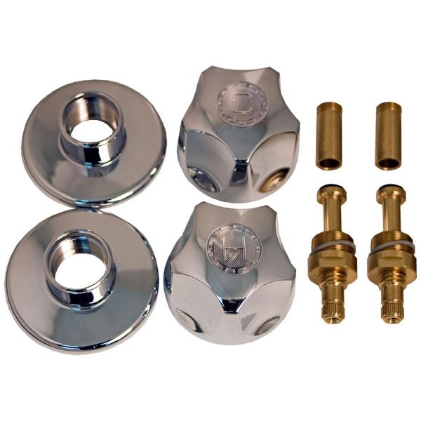 Tub and Shower Rebuild Kit for American Brass 2-Handle Faucets