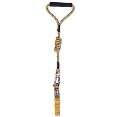 Medium Orange Dura-Tough Easy Tension 3M Reflective Pet Leash and Collar