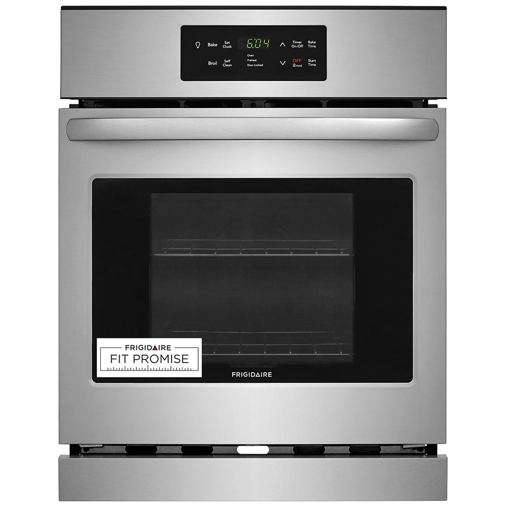 Frigidaire 24 in. Single Electric Wall Oven in Stainless Steel