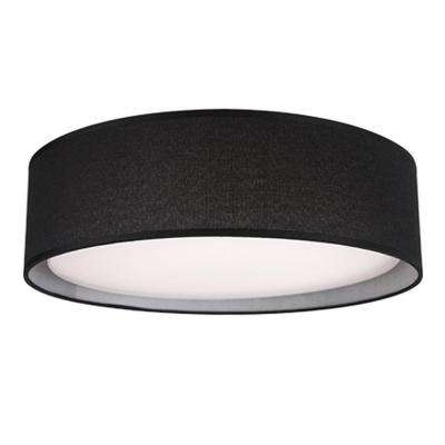 Troy 60-Watt Equivalence White Integrated LED Ceiling Flush Mount