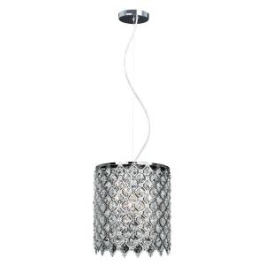 Decor Living 1-Light Crystal and Chrome Chandelier by Decor Living