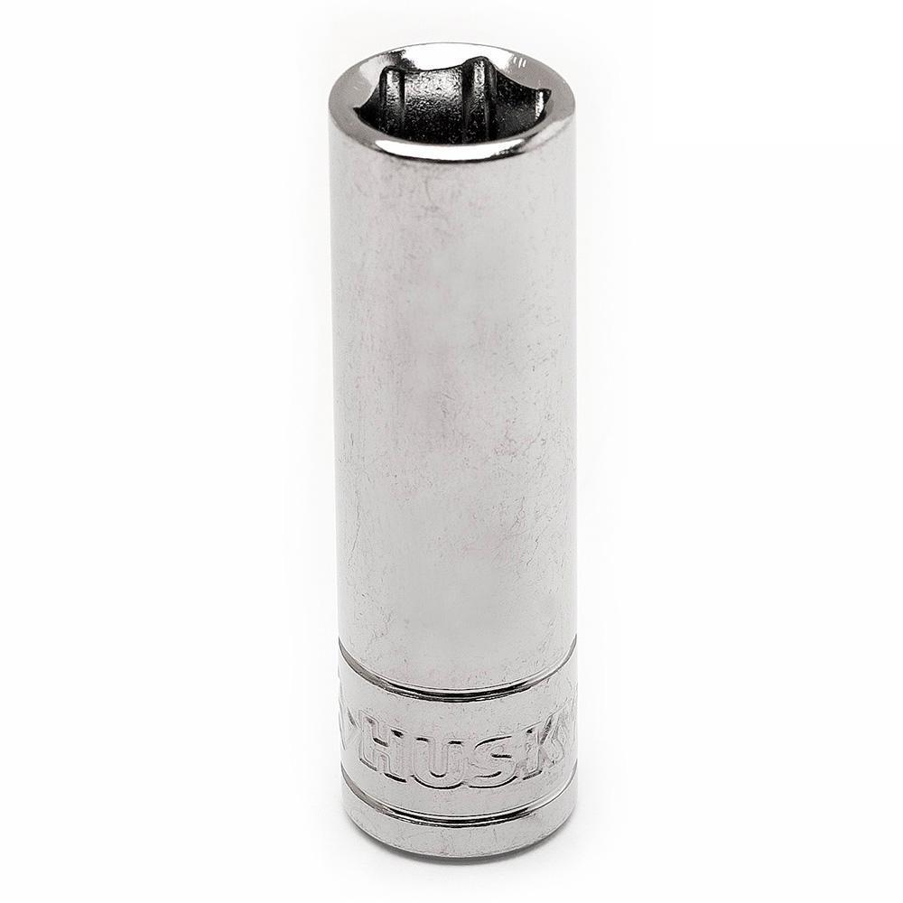 1/4 in. Drive 9 mm 6-Point Metric Deep Socket