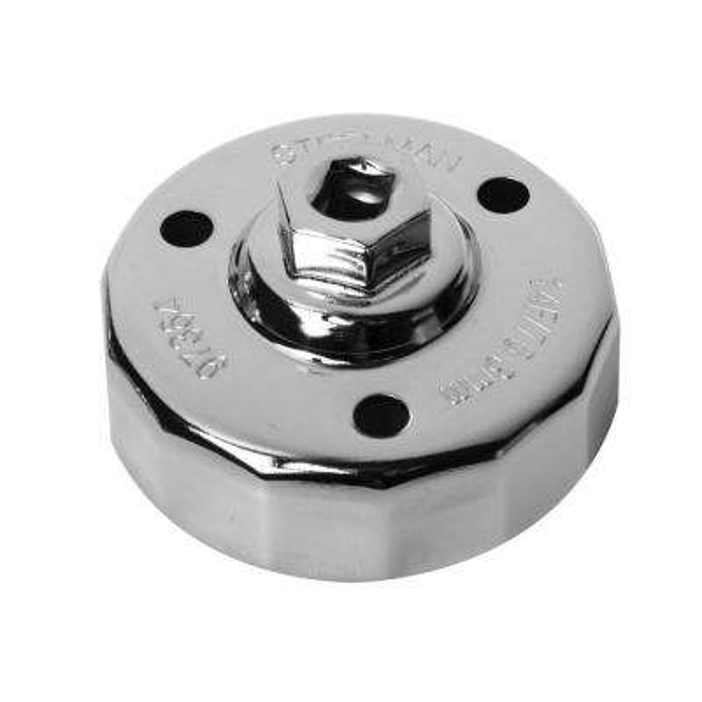 76.3 mm. x 14 Flute Mazda Snug Fit Oil Cap Wrench Chrome