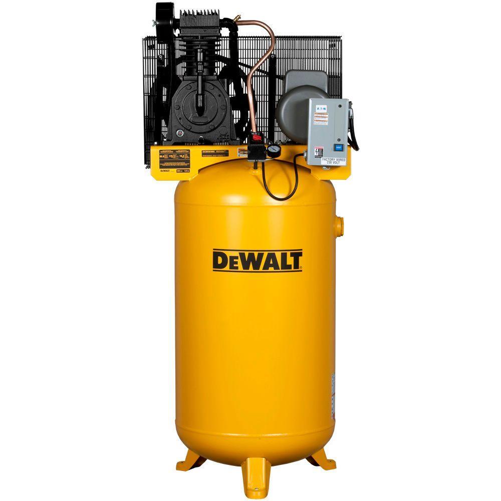 Dewalt 80 Gal. 5 HP 175 psi 2-Stage Stationary Electric Air Compressor by DEWALT