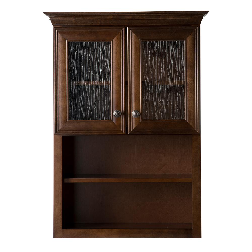Medium Brown - Bathroom Wall Cabinets - Bathroom Cabinets & Storage ...