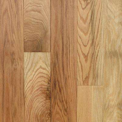 Take Home Sample Red Oak Natural Engineered Hardwood Flooring - 5 in. x 7 in.