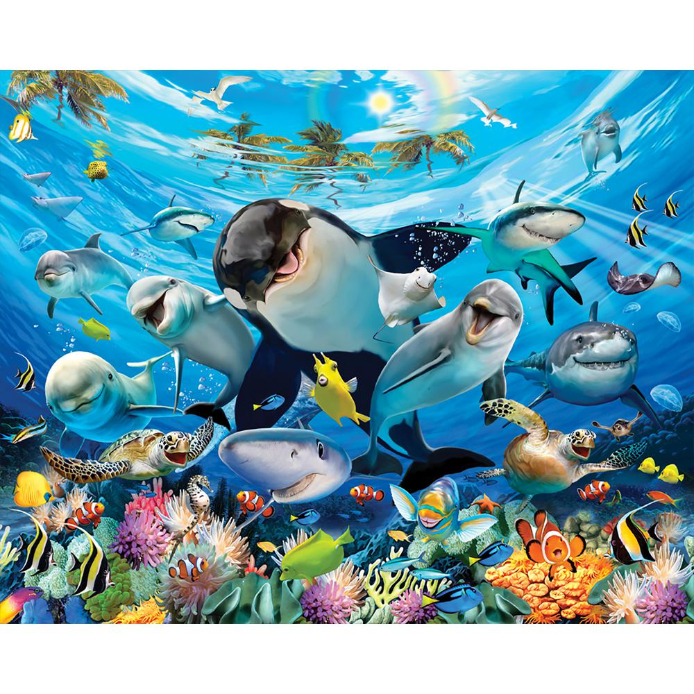 Walltastic Sea Adventure Animals Wall Mural Wt45279 The