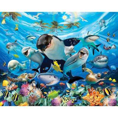 Sea Adventure Animals Wall Mural