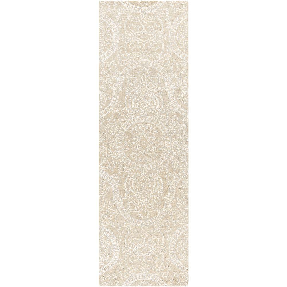 Artistic weavers manhattan beige 2 ft 6 in x 8 ft for Manhattan beige paint color