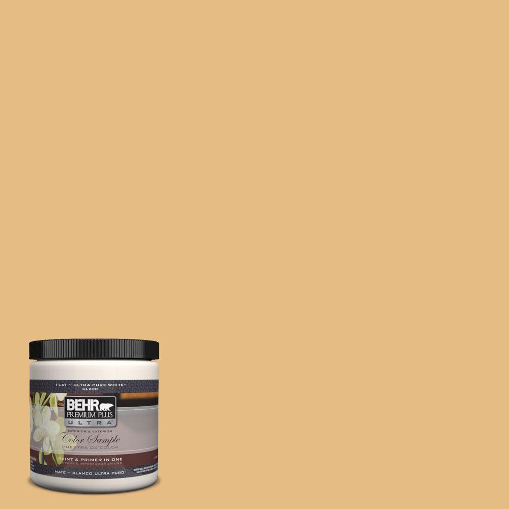 BEHR Premium Plus Ultra 8 oz. #320D-4 Arizona Tan Matte Interior ...