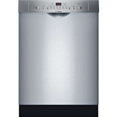 Ascenta Series Front Control Tall Tub Dishwasher in Stainless Steel with Hybrid Stainless Steel Tub, 50 dBA