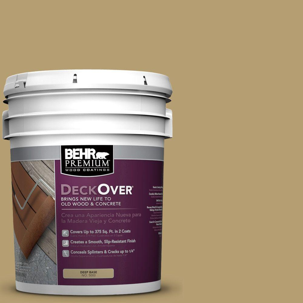 5 gal. #SC-145 Desert Sand Solid Color Exterior Wood and Concrete